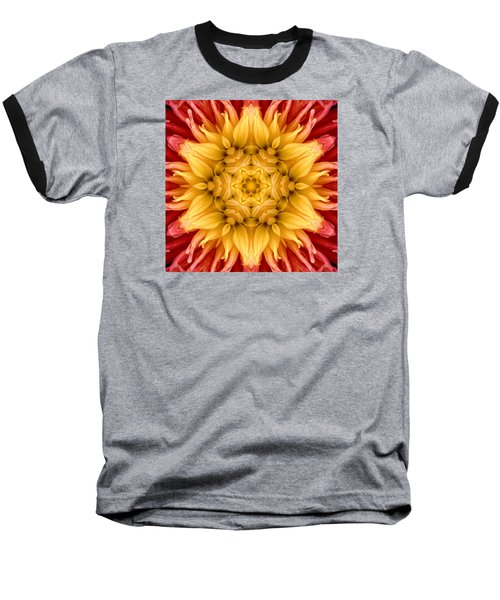 Surreal Flower No.4 Baseball T-Shirt