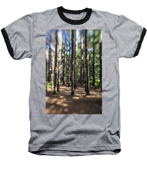 Surreal Forest Baseball T-Shirt