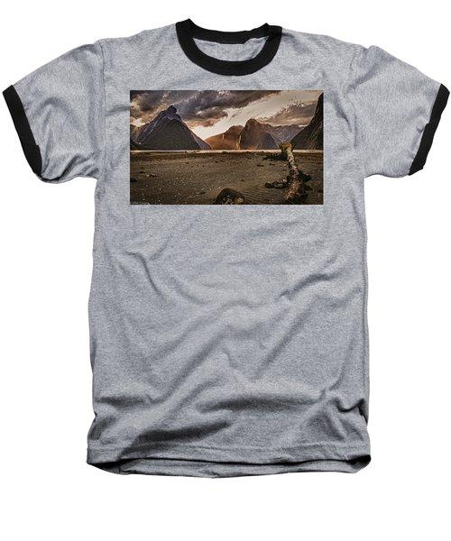 Surreal Milford Baseball T-Shirt