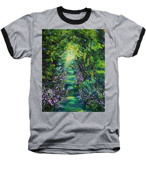 Baseball T-Shirt featuring the painting Surrender by Meaghan Troup