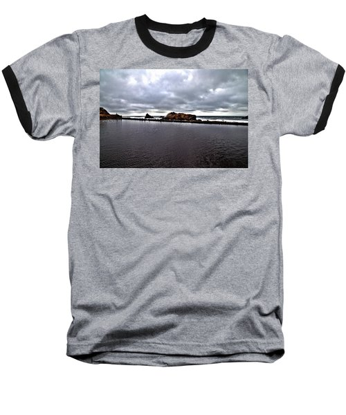 Sutro Baths Pool Baseball T-Shirt