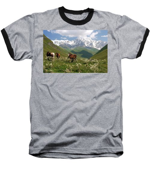 Svaneti  Baseball T-Shirt