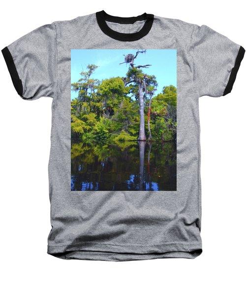 Swamp Land Baseball T-Shirt
