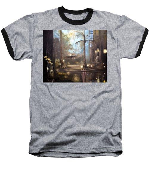 Swamp Life Baseball T-Shirt