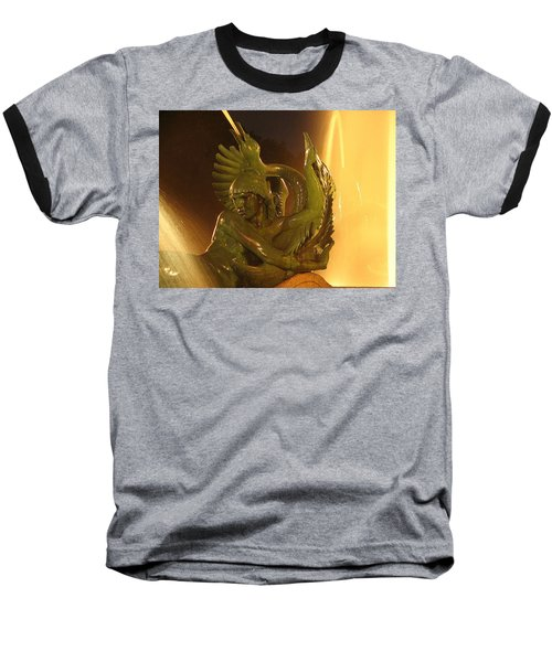 Baseball T-Shirt featuring the photograph Swann Fountain by Christopher Woods