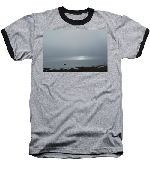 Swans At Sunrise Baseball T-Shirt
