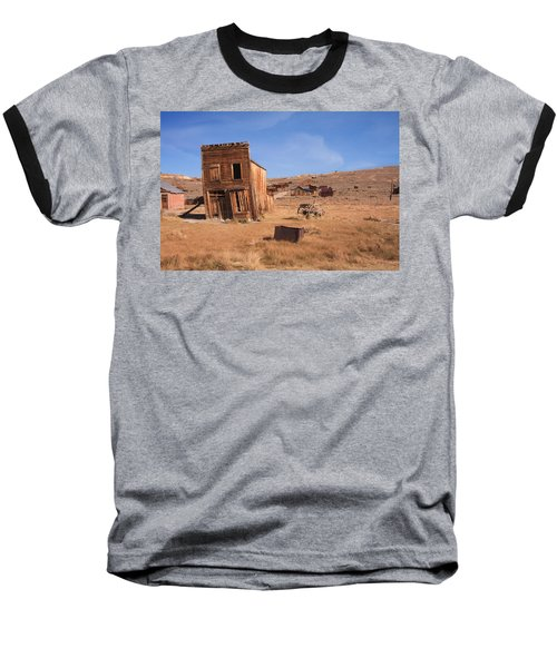 Swazey Hotel Bodie Ghost Town Baseball T-Shirt