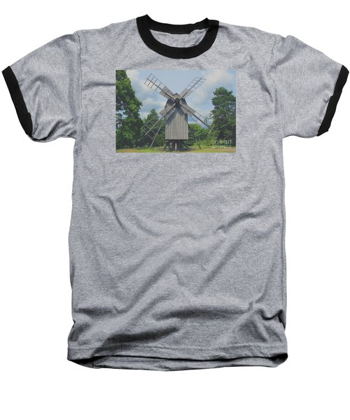 Baseball T-Shirt featuring the photograph Swedish Old Mill by Sergey Lukashin