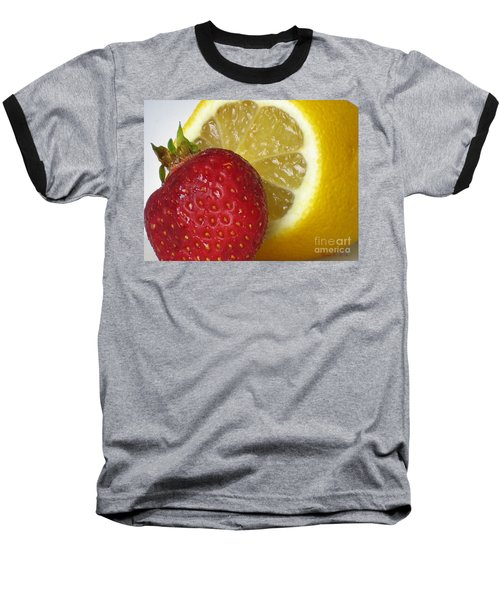 Baseball T-Shirt featuring the photograph Sweet And Sour by Nina Silver