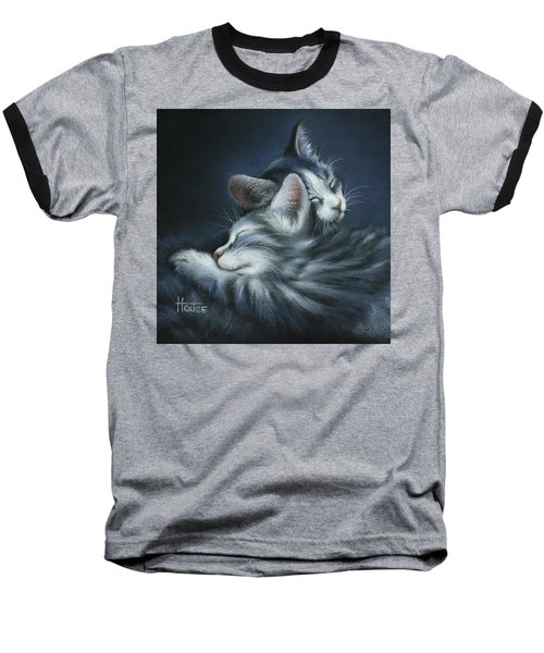 Baseball T-Shirt featuring the drawing Sweet Dreams by Cynthia House