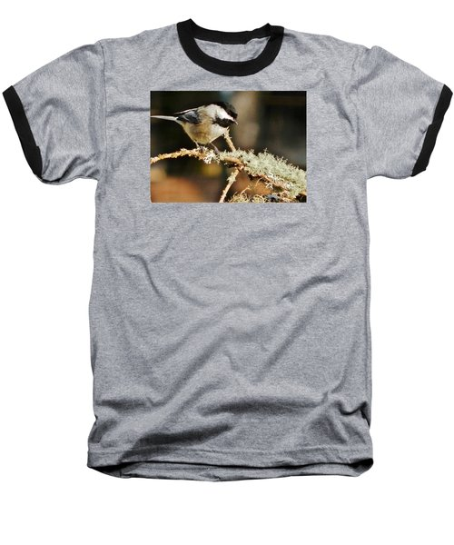 Sweet Little Chickadee Baseball T-Shirt