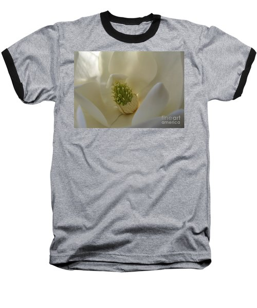 Baseball T-Shirt featuring the photograph Sweet Magnolia by Peggy Hughes