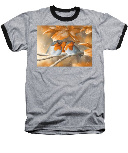 Sweet Nature Baseball T-Shirt by Veronica Minozzi