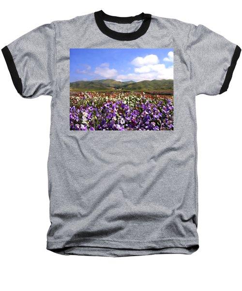 Sweet Peas Galore Baseball T-Shirt