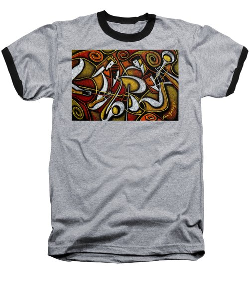 Sweet Sounds Of Jazz Baseball T-Shirt