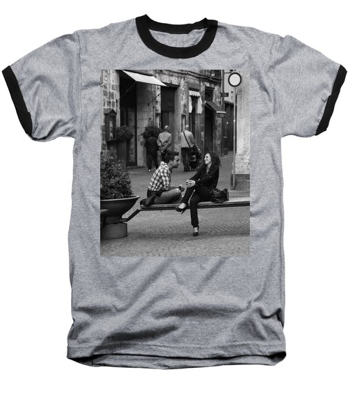 Sweet Youth Baseball T-Shirt by Hugh Smith