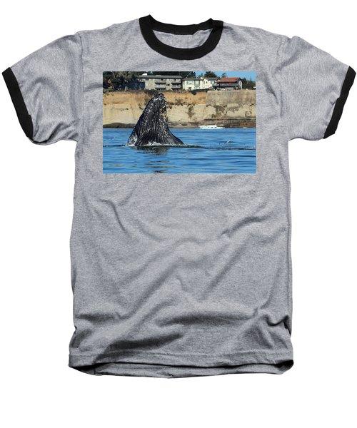 Swim Away Baseball T-Shirt
