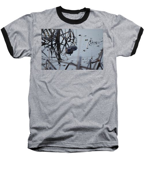 Baseball T-Shirt featuring the photograph Swimming by James Petersen