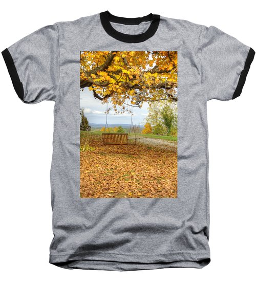 Swing With A View Baseball T-Shirt