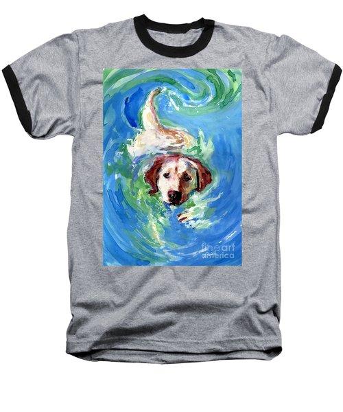 Swirl Pool Baseball T-Shirt