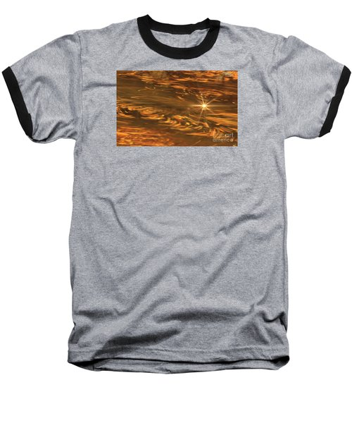 Baseball T-Shirt featuring the photograph Swirling Autumn Leaves by Geraldine DeBoer