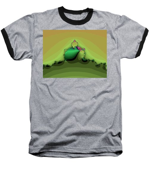 Swirling Peaks Baseball T-Shirt