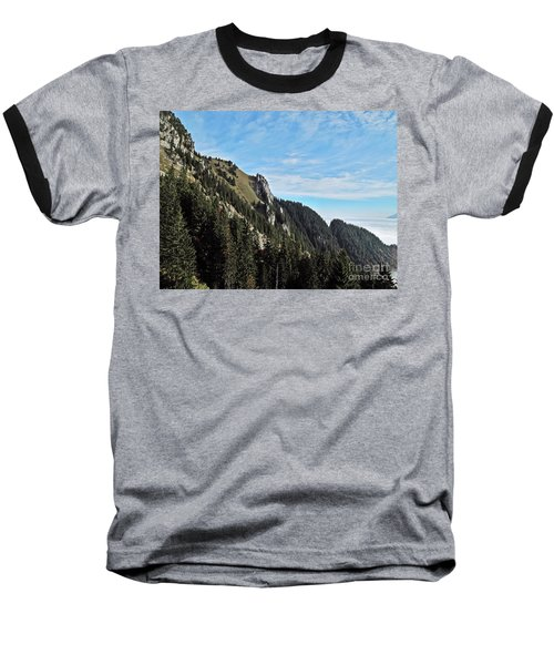 Swiss Sights Baseball T-Shirt