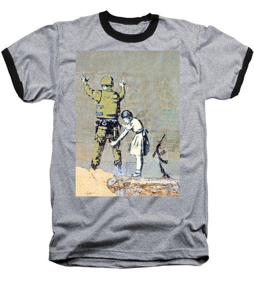 Switch Roles Baseball T-Shirt by Munir Alawi