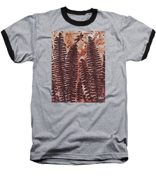 Sword Fern Fossil Baseball T-Shirt