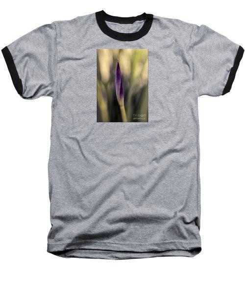 Siberian Iris Bud Baseball T-Shirt