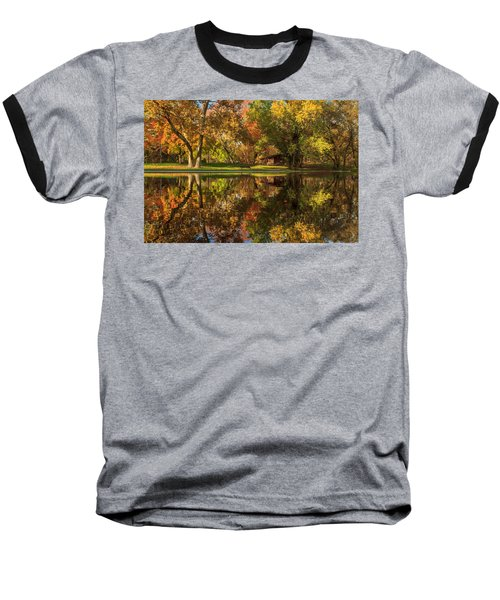 Sycamore Reflections Baseball T-Shirt