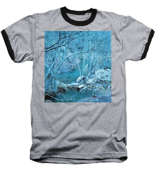 Sycamores And River Baseball T-Shirt