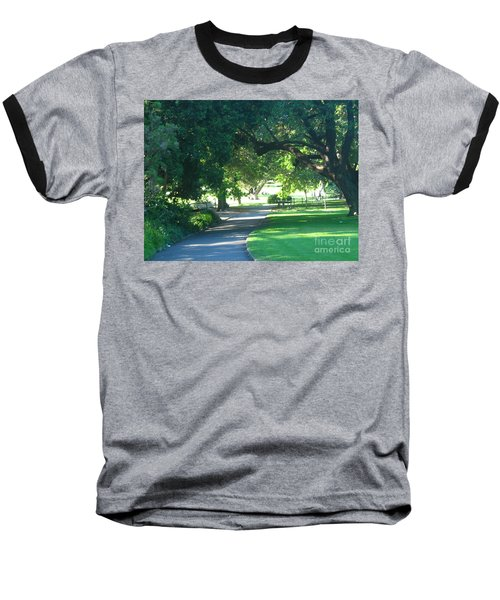 Sydney Botanical Gardens Walk Baseball T-Shirt