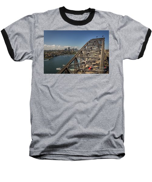 Sydney Harbour Bridge Baseball T-Shirt