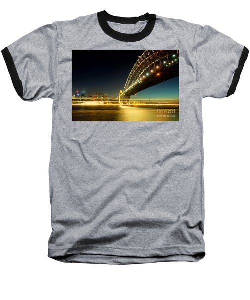 Sydney Harbour Bridge Baseball T-Shirt