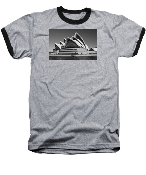 Sydney Opera House Baseball T-Shirt by Venetia Featherstone-Witty