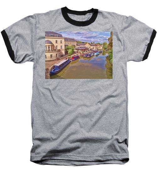 Sydney Wharf Bath Baseball T-Shirt