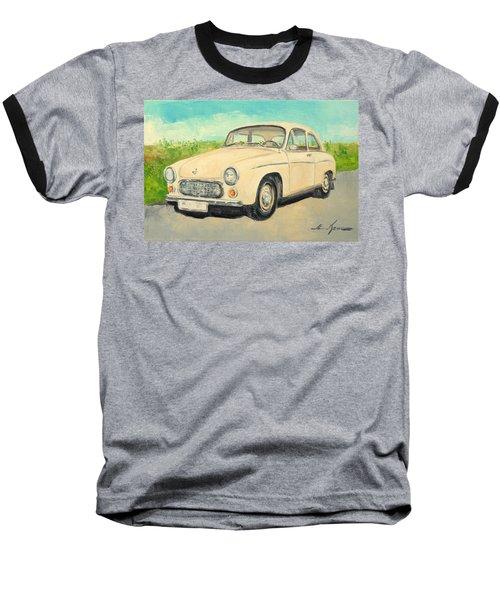 Syrena 105 - Polish Car Baseball T-Shirt
