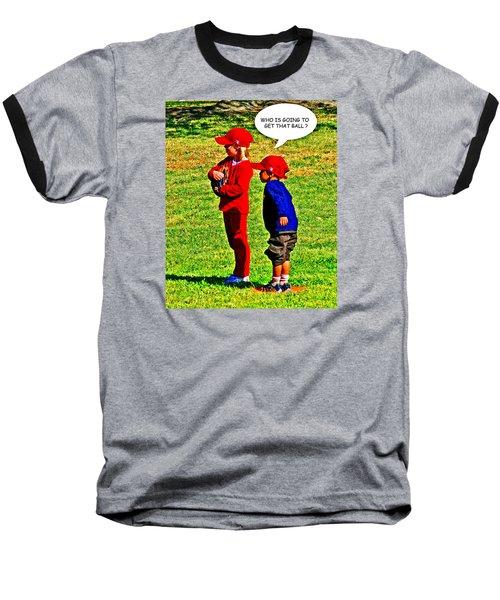 T Ball Fielders Baseball T-Shirt