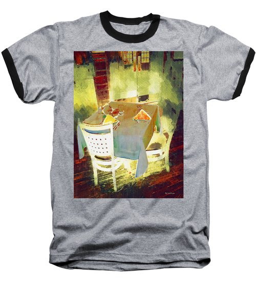 Table At The Fauve Cafe Baseball T-Shirt