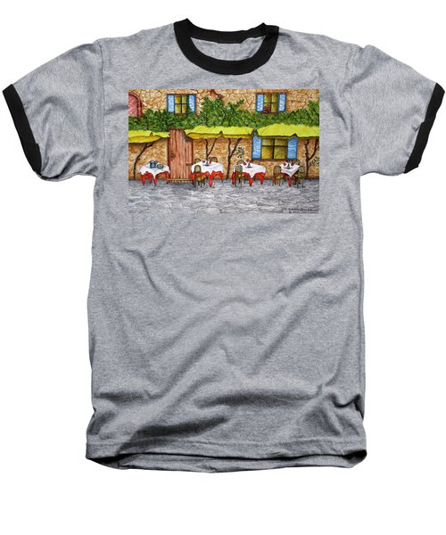 Table For Three Baseball T-Shirt