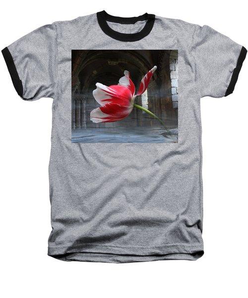 Tabula Rasa Baseball T-Shirt by Yvonne Wright