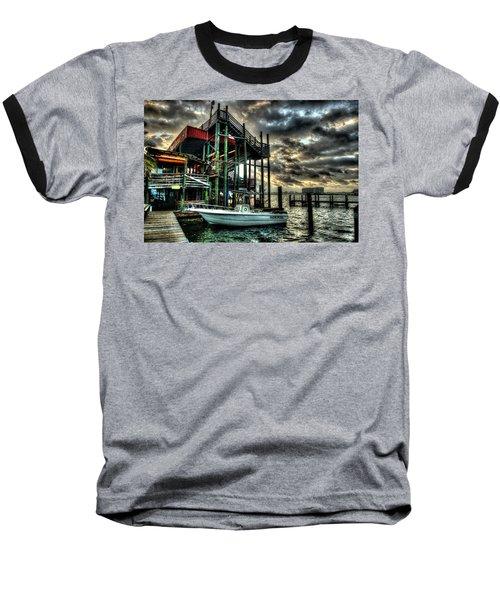 Tacky Jack Morning Baseball T-Shirt by Michael Thomas
