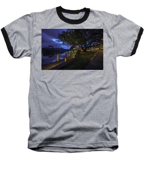 Tacky Jacks Before The Storm Baseball T-Shirt by Michael Thomas