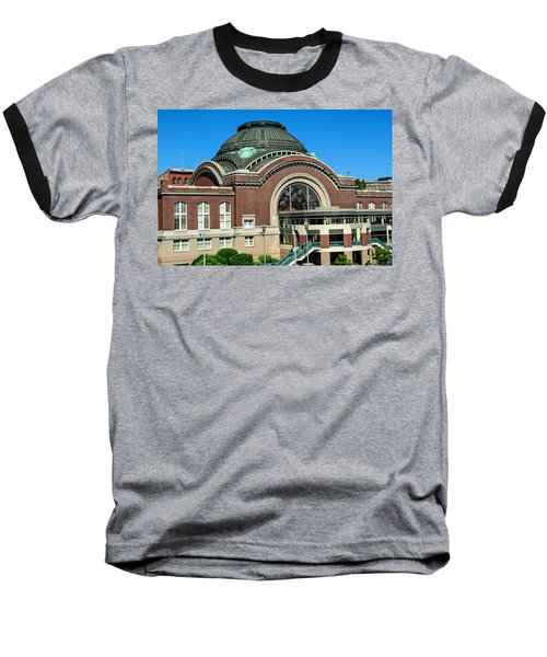 Tacoma Court House At Union Station Baseball T-Shirt by Tikvah's Hope