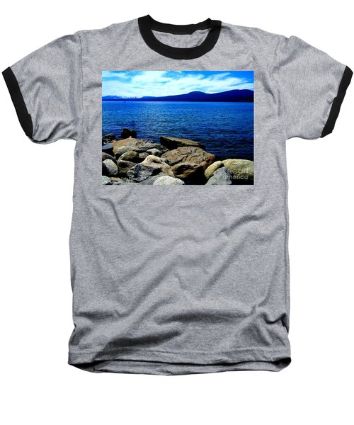 Baseball T-Shirt featuring the photograph Tahoe Magic by Bobbee Rickard