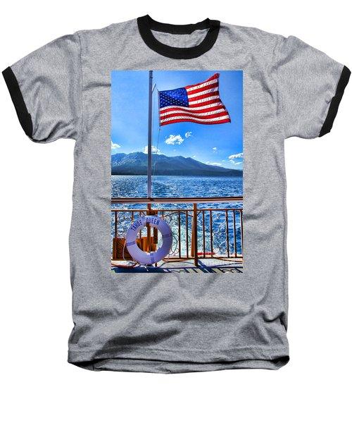 Tahoe Queen Lake Tahoe By Diana Sainz Baseball T-Shirt