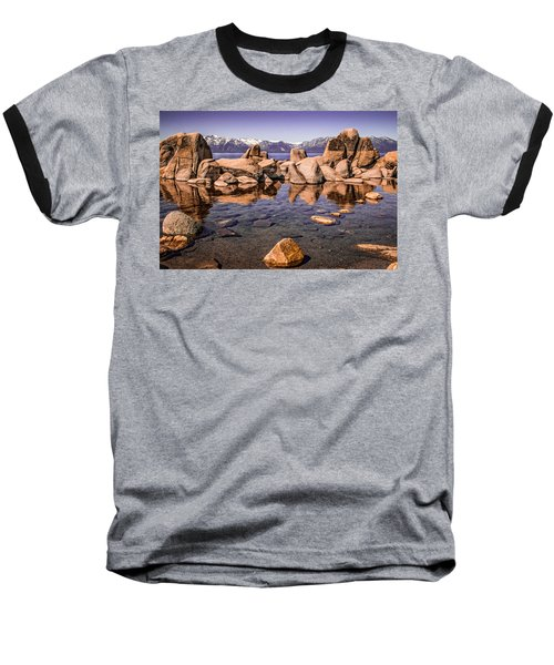 Baseball T-Shirt featuring the photograph Tahoe Reflections by Steven Bateson