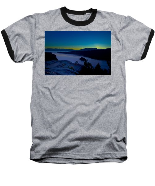 Baseball T-Shirt featuring the photograph Tahoe Sunrise by Jim Thompson