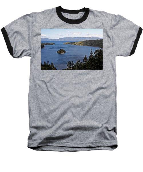 Lake Tahoe's Emerald Bay Baseball T-Shirt